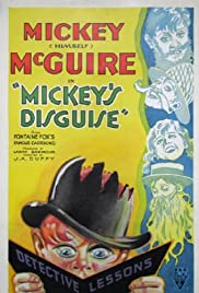 Mickey's Disguises Poster