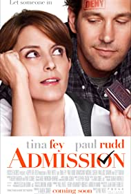 Tina Fey and Paul Rudd in Admission (2013)