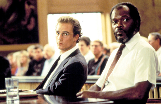 Matthew McConaughey i Samuel L. Jackson u A Time to Kill.