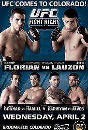 UFC Fight Night: Florian vs Lauzon Poster
