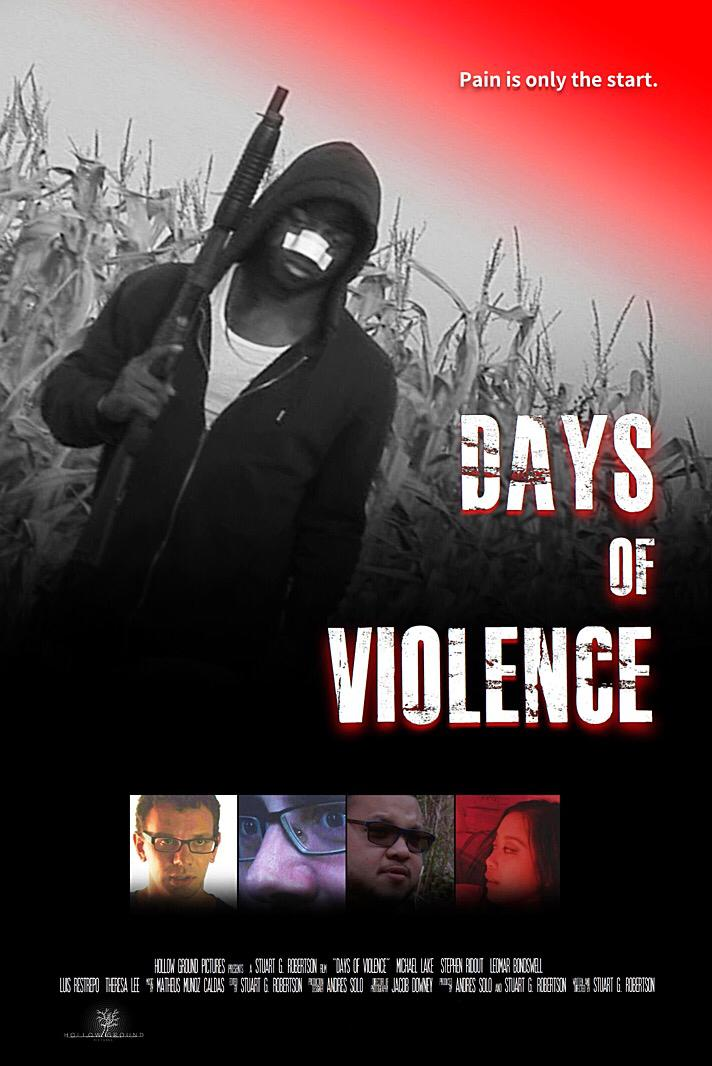 Days of Violence (2020) Unofficial Hindi Dubbed 720p HDRip Esubs DL