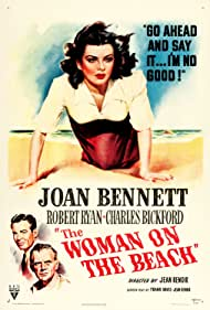 Joan Bennett, Charles Bickford, and Robert Ryan in The Woman on the Beach (1947)