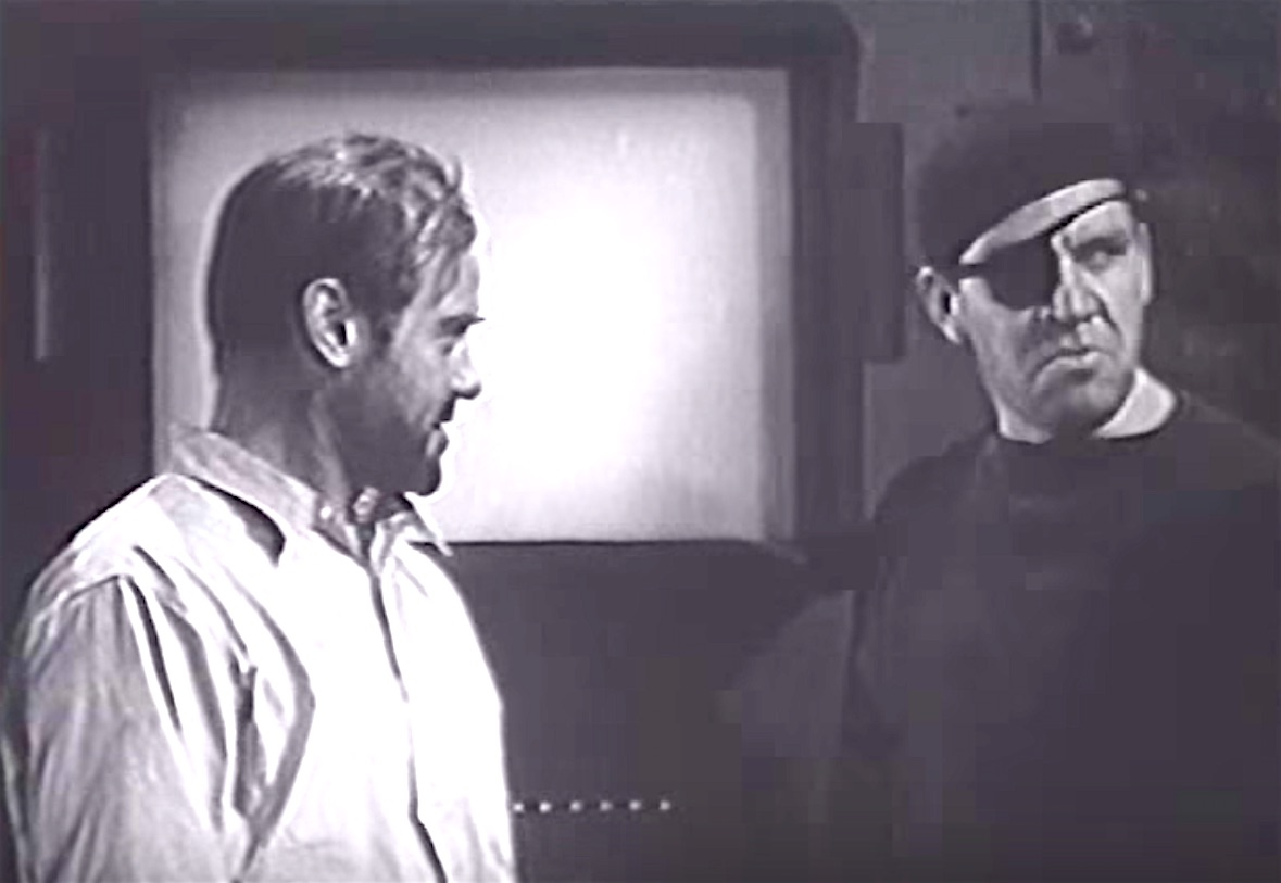 Jason Robards Sr. and Max Wagner in The Fighting Marines (1935)