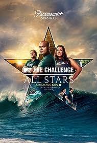 Katie Doyle, Darrell Taylor, Tina Barta, Jonna Mannion, Derrick Kosinski, and M.J. Garrett in The Challenge: All Stars (2021)