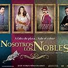 Karla Souza, Gonzalo Vega, Luis Gerardo Méndez, and Juan Pablo Gil in Nosotros los Nobles (2013)