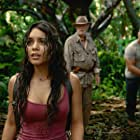 Michael Caine, Luis Guzmán, Dwayne Johnson, and Vanessa Hudgens in Journey 2: The Mysterious Island (2012)