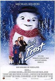 Michael Keaton, Kelly Preston, and Joseph Cross in Jack Frost (1998)