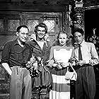Pierre Billon, Jean Cocteau, Danielle Darrieux, and Jean Marais in Ruy Blas (1948)