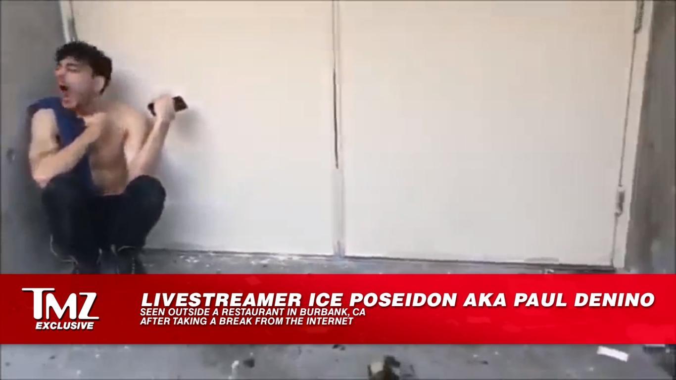 Ice Poseidon show