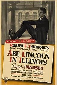 Raymond Massey in Abe Lincoln in Illinois (1940)
