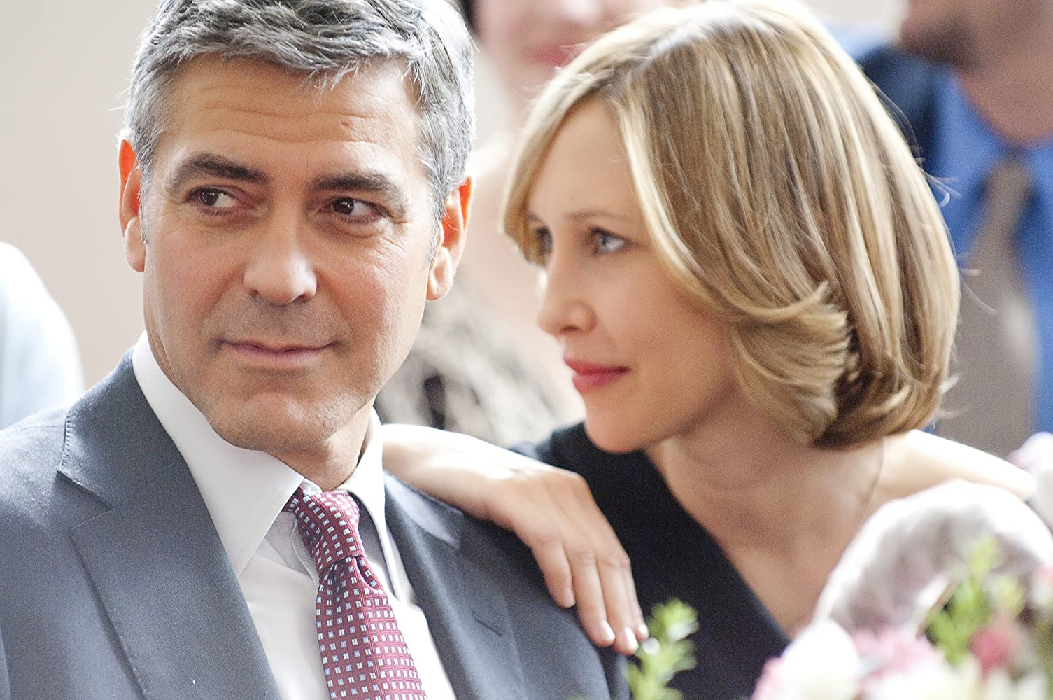 George Clooney and Vera Farmiga in Up in the Air (2009)