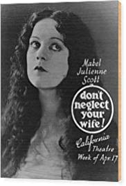 Don't Neglect Your Wife Poster