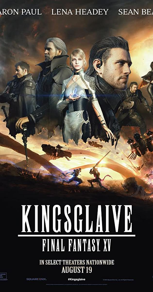 Subtitle of Kingsglaive: Final Fantasy XV