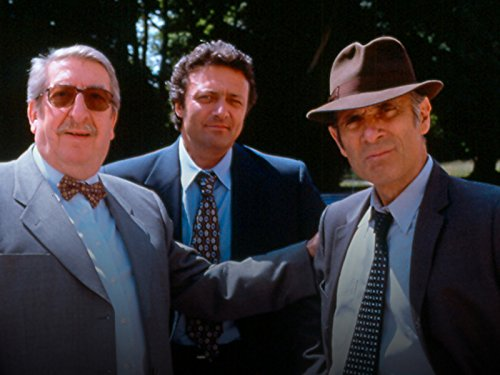 Patrick Guillemin, Guy Marchand, and Pierre Tornade in Nestor Burma (1991)
