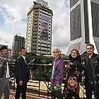 Normah Damanhuri, U-Wei Haji Saari, Khalid Salleh, and Adi Putra at an event for Hanyut (2012)