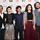 Sunny Pang, Julie Estelle, Zack Lee, Iko Uwais, and Chelsea Islan at an event for Headshot (2016)