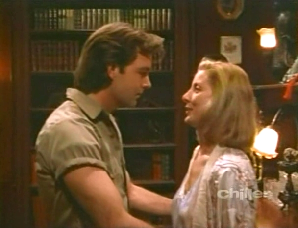 Todd Allen and Valerie Wildman in Freddy's Nightmares (1988)