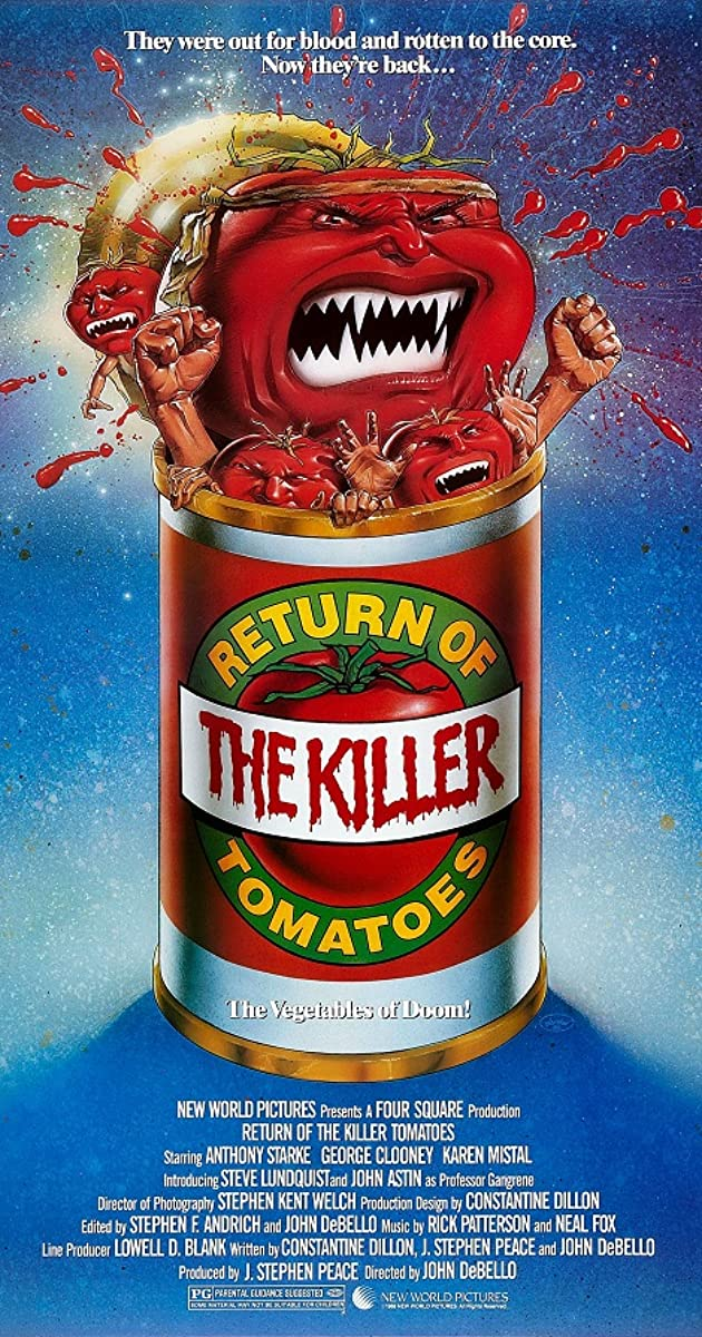 Subtitle of Return of the Killer Tomatoes!
