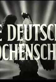 Deutsche Wochenschau Nr. 681/40/1943 Poster