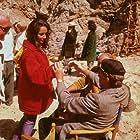 """Sandpiper"" Elizabeth Taylor and Richard Burton on location 1965 © 1978 Bernie Abramson MPTV"