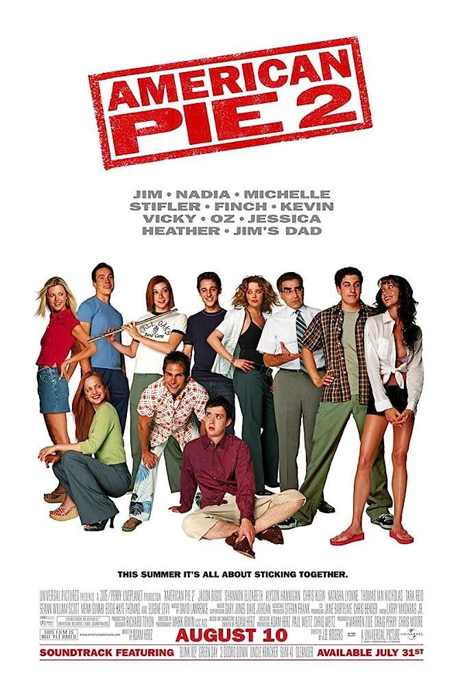 Amerikietiškas pyragas 2 (2001) Online
