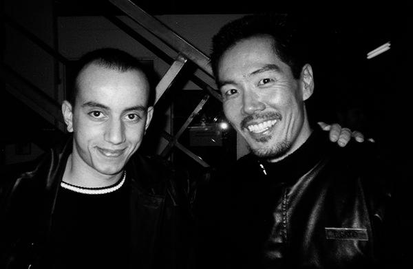 Yuji Okumoto dan Samir Bezzah dalam 'Fortress 2: Re-Entry'.
