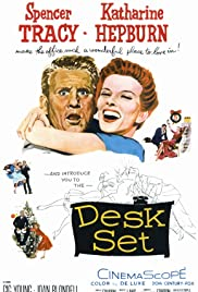 Desk Set (1957) Poster - Movie Forum, Cast, Reviews