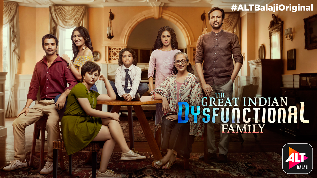 Image result for The Great Indian Dysfunctional Family (2018)