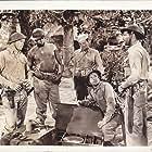 Robert Taylor, Barry Nelson, Lloyd Nolan, Kenneth Spencer, and Robert Walker in Bataan (1943)