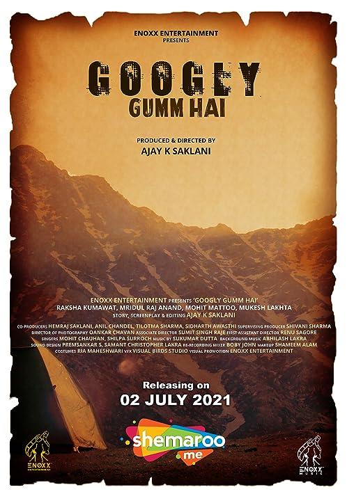 Googly Gumm Hai 2021 Hindi Movie 720p HDRip 500MB x264 AAC