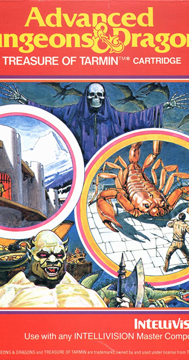 Advanced Dungeons Dragons Treasure Of Tarmin Cartridge Video