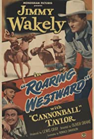 Lois Hall, Dub Taylor, and Jimmy Wakely in Roaring Westward (1949)