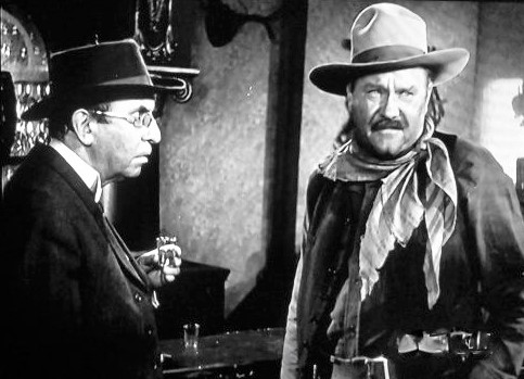 Emory Parnell and Andrew Tombes in Badman's Territory (1946)
