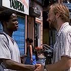 William Hurt and Harold Perrineau in Smoke (1995)