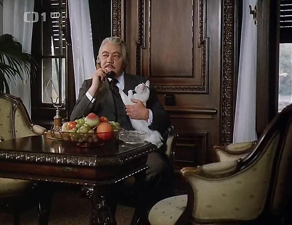 Rudolf Hrusínský in Buldoci a tresne (1981)