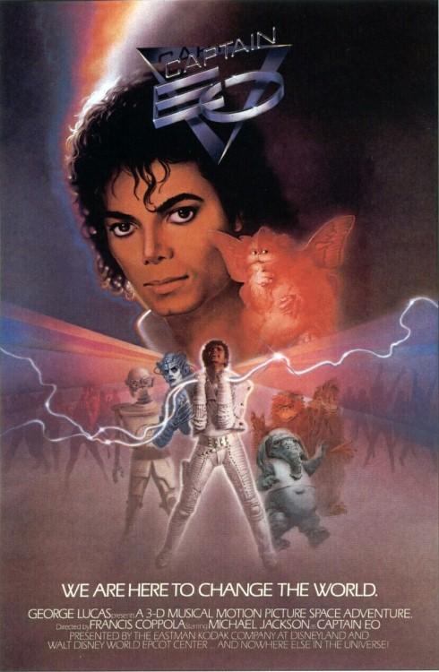 Michael Jackson in Captain EO (1986)