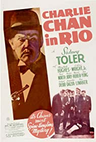 Harold Huber, Sidney Toler, and Victor Sen Yung in Charlie Chan in Rio (1941)