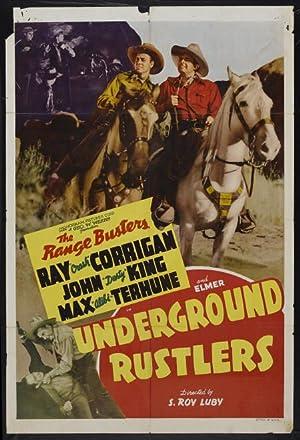 Where to stream Underground Rustlers