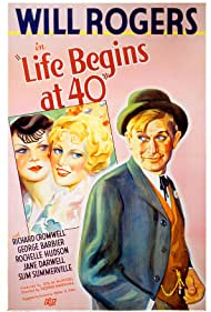 Ruth Gillette, Rochelle Hudson, and Will Rogers in Life Begins at 40 (1935)