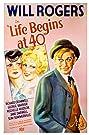 Life Begins at 40 (1935) Poster
