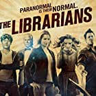 Rebecca Romijn, Lindy Booth, Christian Kane, John Larroquette, and John Harlan Kim in The Librarians (2013)