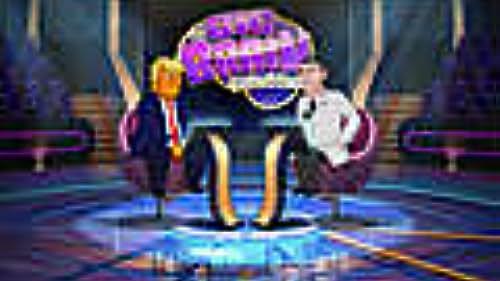 Cartoon Donald Trump Shows the World His Brain is Good