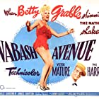 Victor Mature and Betty Grable in Wabash Avenue (1950)