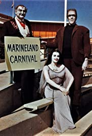 Marineland Carnival: The Munsters Visit Marineland Poster