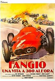 John Alcott, Riz Ortolani, Juan Manuel Fangio, Hugh Hudson, Gualtiero Jacopetti, and Peter Taylor in Fangio: Una vita a 300 all'ora (1980)