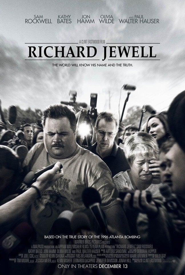 Image result for richard jewell movie poster