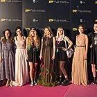Jelena Percin, Csilla Barath-Bastaic, Judita Frankovic, Iva Viskovic, Iskra Jirsak, Nika Ostoic, and Latica Cameron at an event for Fuck Off I Love You (2017)