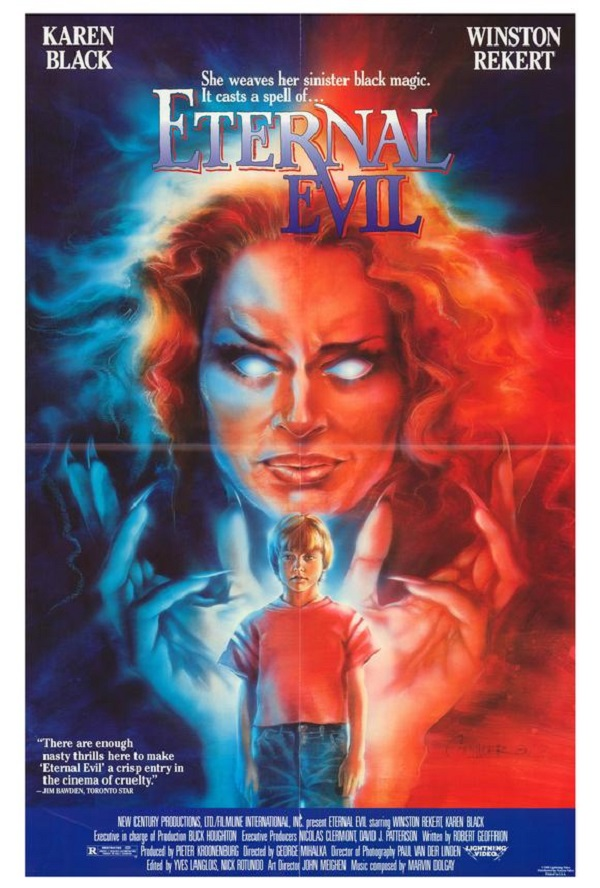 Karen Black in The Blue Man (1985)