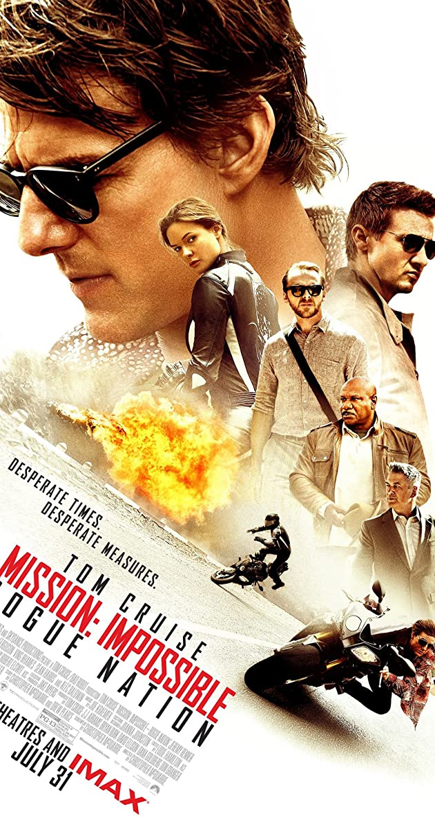 Free Download Mission: Impossible - Rogue Nation Full Movie