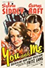 You and Me (1938) Poster